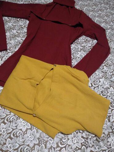 Ženske majice - Novo - Sivac: Oker dostupna  700din Rebrasti pamuk elastin