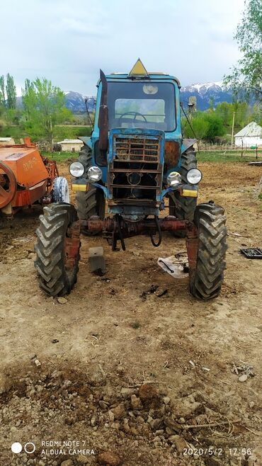 Купить трактор т 25 бу - Кыргызстан: Продаю мтз 80 + прессподбощик шины новые аппарат после стента либо ме