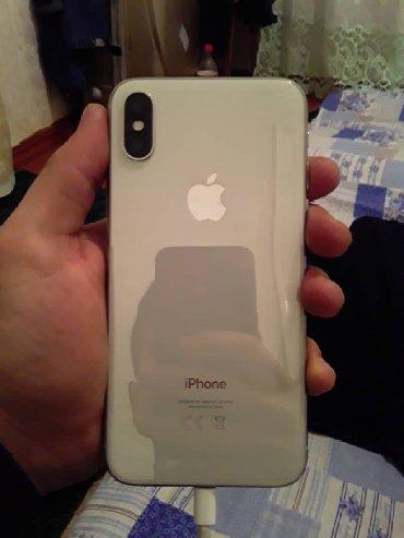 aifon 6 64 gb в Кыргызстан: Б/У iPhone X 64 ГБ Белый