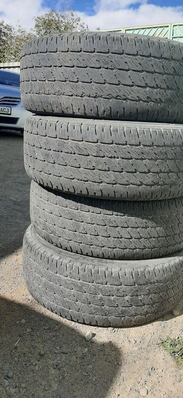 шины 265 65 r17 в Кыргызстан: Продаю всезонные шины 265/65/R17 от gx470 цена 6000сом за комлект