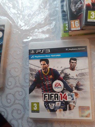 Bakı şəhərində Ps3 üçün tam original oyun diski fifa 2014... Playstation üçün