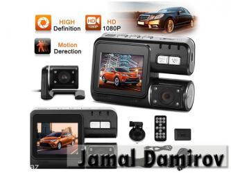 Bakı şəhərində Videoreqistrator 2-ki kameralı i1000.