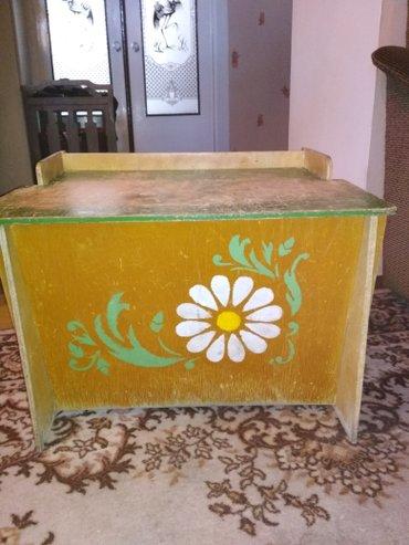 деревянный разборный ящик для игрушек. производство СССР в Бишкек