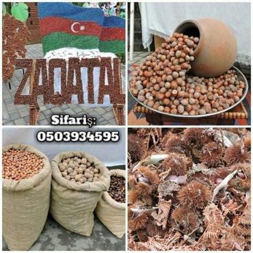 Bakı şəhərində Qoz findiq sifarisi