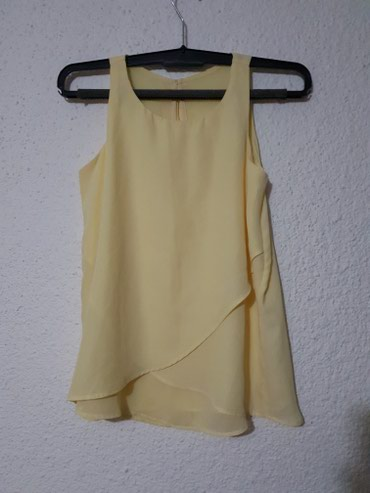 C&a žuta elegantna tunika, kao nova, jednom nošena - Loznica