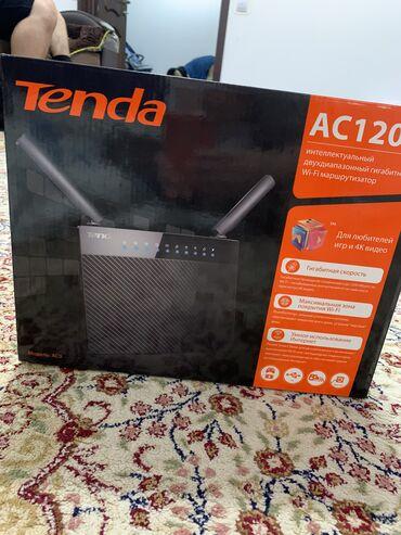 Модемы и сетевое оборудование в Кыргызстан: Продаю Wi-fi роутер новый. Tenda AC