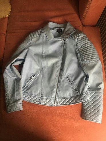 Kozna jaknica, nosena 2-3 puta, kao nova, 2400  velicina l - Kovacica