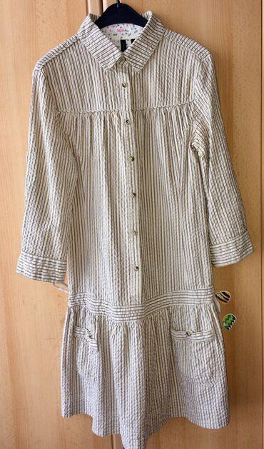 Платье от Манго. Размер: L, M. Красивый материал. 60 manata alınıb