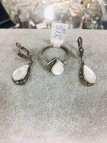 серебро оптом из турции в Кыргызстан: Новый серебряный набор из Лунного Камня  Самый лучший подарок для ваши