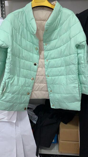 Куртка женская двухсторонняя весна-осень