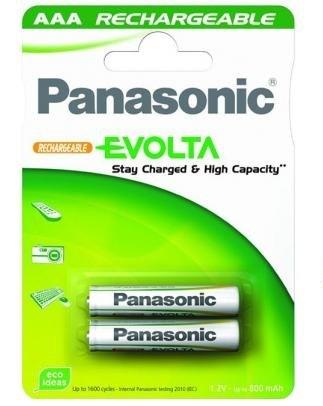 Аккумулятор батарейка Panasonic Evolta (HR03/800mAh, 1.2V, Ni-MH) ÀÀÀ в Бишкек