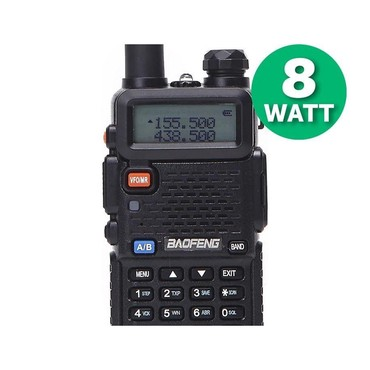 кето гуру цена бишкек в Кыргызстан: Рация Baofeng UV-5R (8W) — портативное устройство связи для