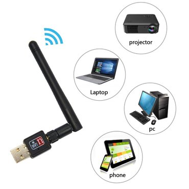 Bakı şəhərində Wifi konnektor wifi qebuledici avadanliq Şunursuz komputere wifi