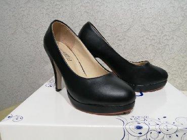 женские ботинки на каблуке в Азербайджан: Женские туфли 35
