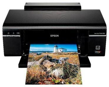 Cvetnoj printer epson p50 - Кыргызстан: Продаю срочно НОВЫЙ принтер EPSON P50 ЦВЕТНАЯ 12000