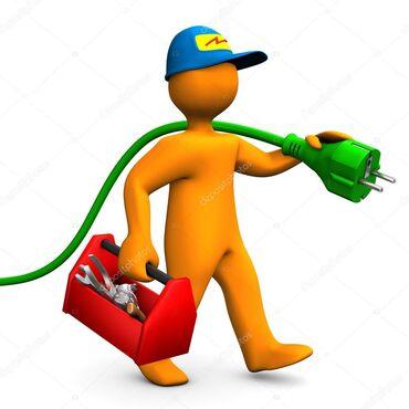 Электрики - Вид услуг: Демонтаж электроприборов - Бишкек: Электрик | Прокладка, замена кабеля | Больше 6 лет опыта