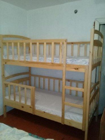 dverki dlja kuhonnoj mebeli в Кыргызстан: Продаю двухярусную функциональную кровать из сосны. Можно разделить на
