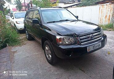 Toyota - Кыргызстан: Toyota Highlander 2.4 л. 2005 | 190000 км