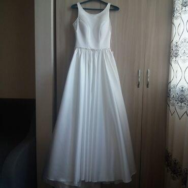 свадебные платья in Кыргызстан   КОНДИТЕРСКИЕ ИЗДЕЛИЯ, СЛАДОСТИ: Продам абсолютно новое свадебное платье атлас,цвет Айвори, со
