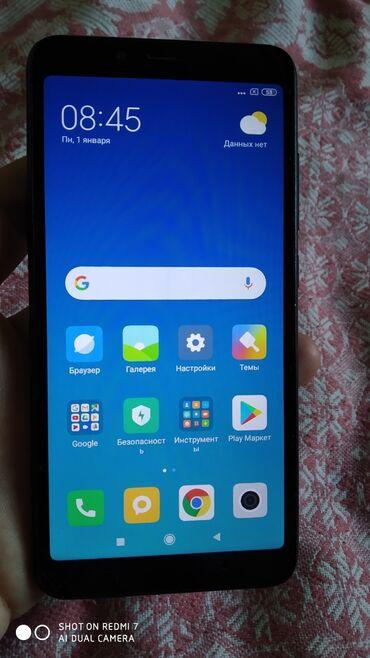 глобал шина в Кыргызстан: Б/у Xiaomi Redmi 6A 16 ГБ Черный