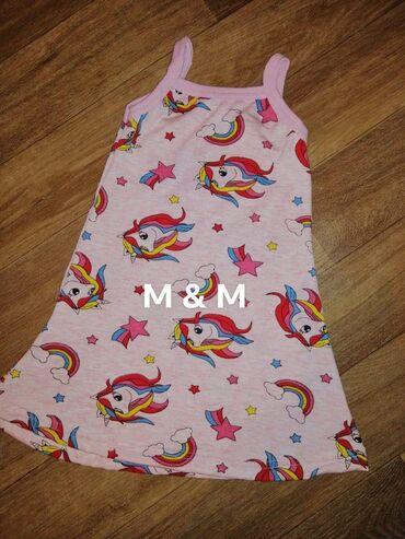 Ostalo | Lajkovac: Predivne haljinice brušeni pamuk  Dostupne veličine 2, 4, 6, 8, 10, 1