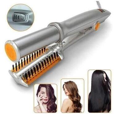 Sa ovim stajler uređajem istovremeno sušite i stilizujete kosu