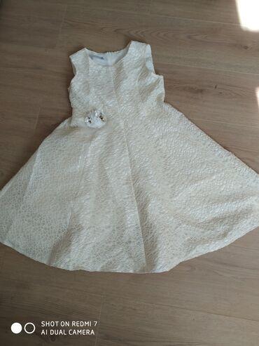 платье в пол на выпускной в Кыргызстан: Красивое нежное платье.Почти новое.Одевали только один раз на