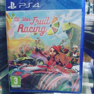 Bakı şəhərində Fruit racing oyun diski