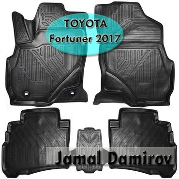 Bakı şəhərində Toyota Fortuner 2017 üçün poliuretan ayaqaltılar.