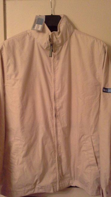 Muška odeća | Kragujevac: Nova, muška, postavljena, jakna sa kapuljačom koja se uvlači u kragnu