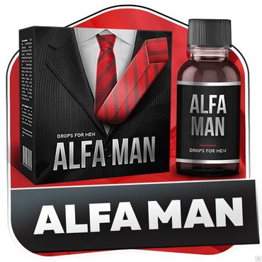 Alfa man (Альфа Мэн) – средство для потенции и каменной эрекции в Бишкек