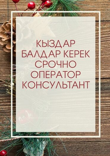 смартфоны prestigio в Кыргызстан: Оператор Call-центра. С опытом. Неполный рабочий день