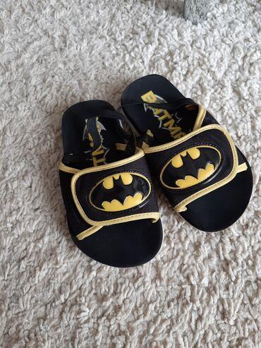 Batman - Srbija: Batman papuce sandale sa lastihom za petu. Broj 26-27 ugg 17cm Nemaju