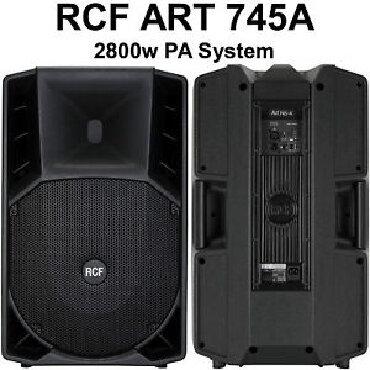 RCF Италия-Только лучшая акустика!!!RCF ART 745-A MK4 АКТИВНАЯ