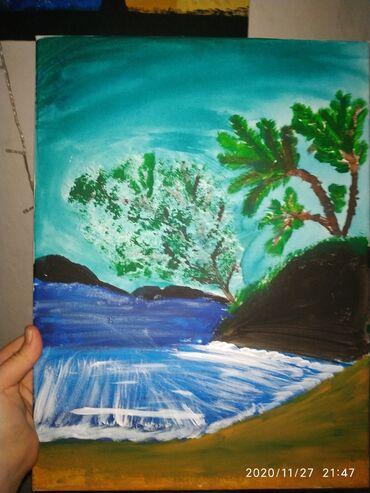 Иссык-Кульский залив тихая бухта картина