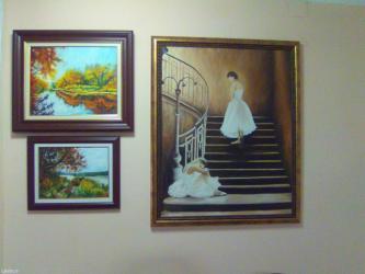 Umetnicke slike u tehnici ulje na platnu  - Smederevo - slika 5
