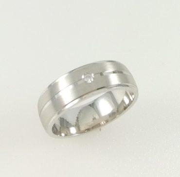 Кольцо из серебра. Вставка циркон. Размер 17.5. Цена 1360 Сом в Бишкек