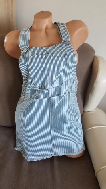 Nova c&a suknja, moderna, na tregere. Vel 158, ili decija, ali po - Arandjelovac