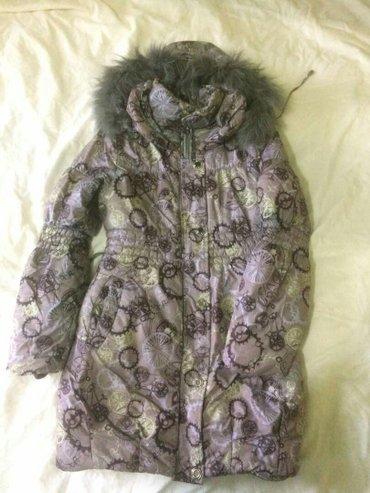 Куртка детская ростовка 140 очень теплая носили один сезон в Бишкек