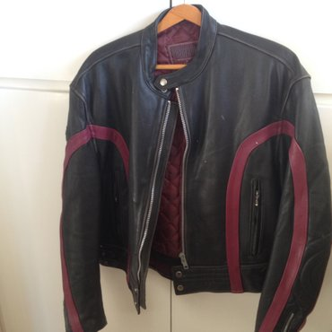 Leather  jacket for cyclists very good quality,size large,100 euros σε Πάτρα