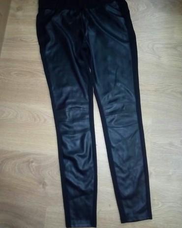 Pantalone-kozne - Srbija: New Yorker kozne helanke velicine L