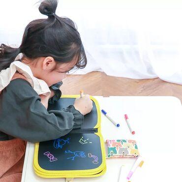 Детский переносной блокнот для рисования, Волшебная книга для