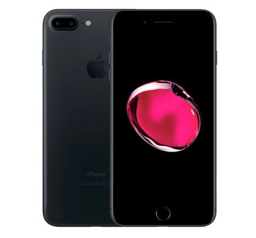 Электроника - Ала-Тоо: IPhone 7 Plus | 128 ГБ | Черный Б/У | Отпечаток пальца