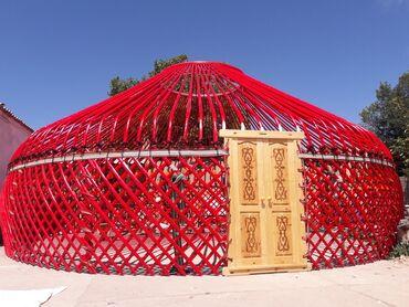 Новая большая юрта.14 канатная 125 головая диаметр 9 метров.Все