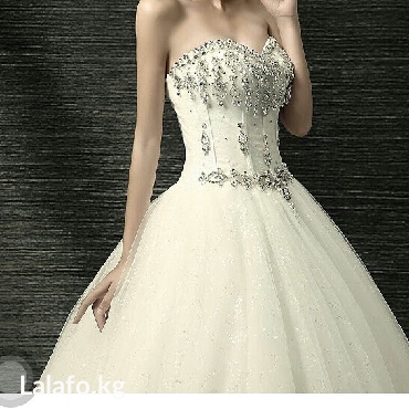 Новое красивое свадебное платье ! в Бишкек