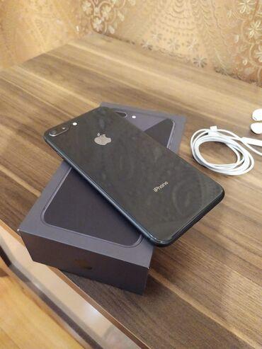 apple isə 6 b - Azərbaycan: İşlənmiş iPhone 8 Plus 64 GB Qara