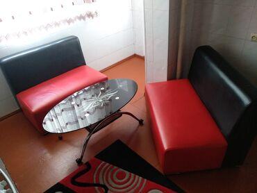 2 eded koja divan + 1 masa stolo Dest 250₼. Cox az işlənib, yenidir