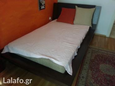κρεβάτι ημιδιπλο με σουμιεδες σε τελαρο, στρώμα candia strom σε Προάστια