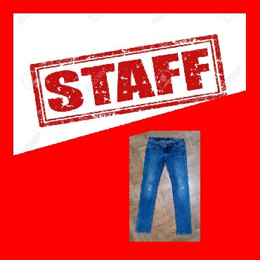 Blue-jeans - Srbija: STAFF JEANS  PRELEPE FARMERKKE POZNATE MARKE U ODLIČNOM STANJU, MALO N