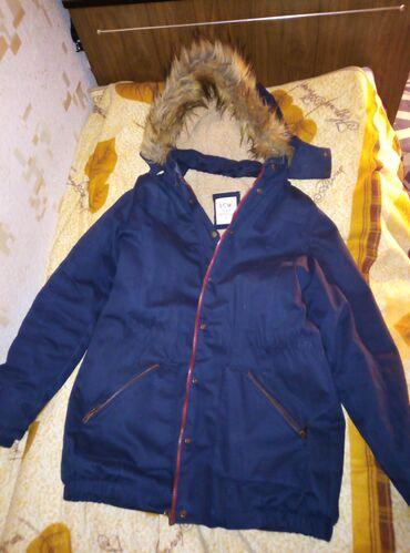 пуховики на зиму в Кыргызстан: Парка на зиму на 46 и 48 брала в лсвэйкики Турция мало одевала внутри